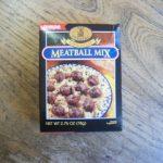 Swedish Meatball Mix