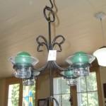 Danish Ironware Hanging Candleholder