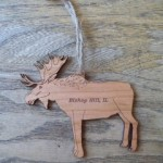 Bishop Hill Moose Ornament