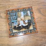 """Rice Pudding"" Scandinavian Tile"