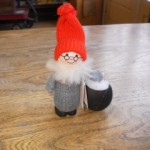 Tomte with Cauldron