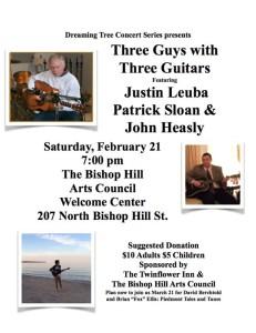 Feb. 2015  Coffee House Concert