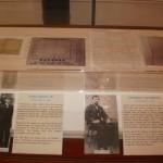 Display in Steeple Museum Baseball Exhibit #2